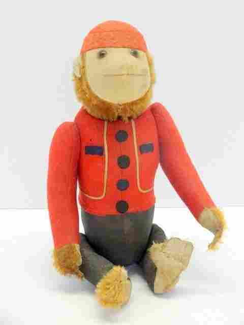 Vintage Schuco YES NO Bell Hop Monkey