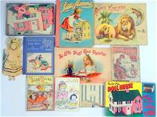 Group Childrens and Dollhouse Books