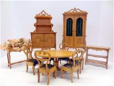 French Dollhouse Furniture