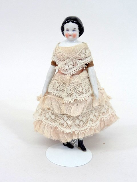 Miniature China Head Doll - 3