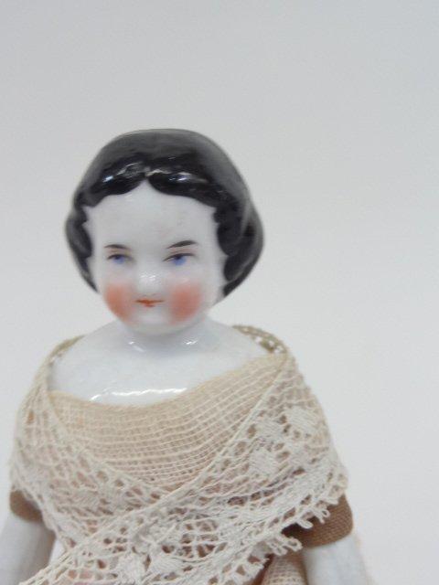 Miniature China Head Doll - 4
