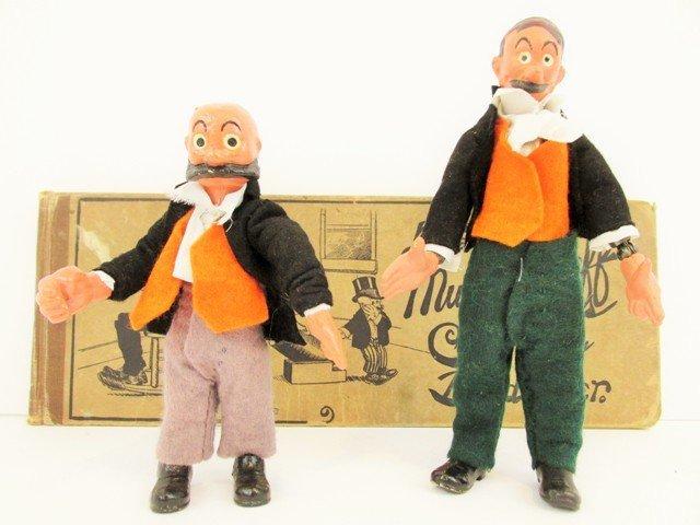 Boucher Mutt & Jeff Flex Dolls