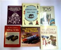 Six Toy Reference Books