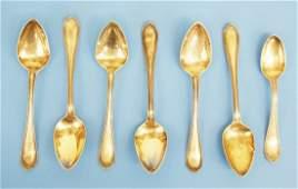 Farr & Thompson Coin Silver Spoons