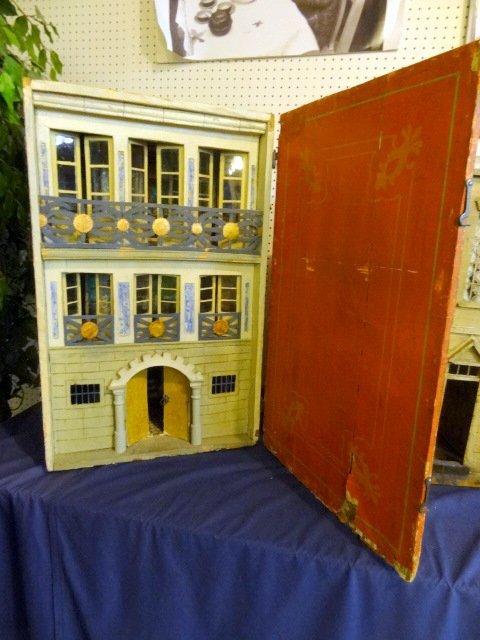 Antique Spanish Traveling House  Dollhouse
