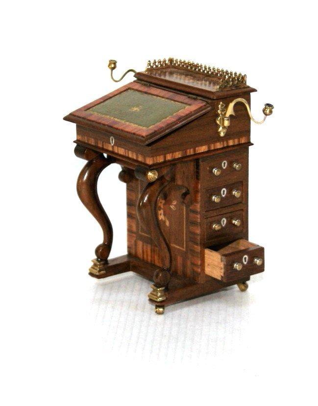 John Davenport Desk Dollhouse