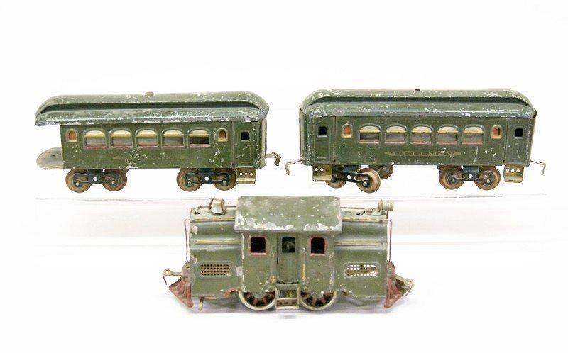 Lionel Pre-war Standard Gauge Passenger Set