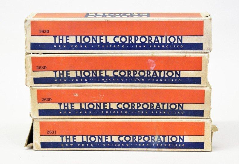 Lionel Blue Passenger Set w/224E Locomotive - 4