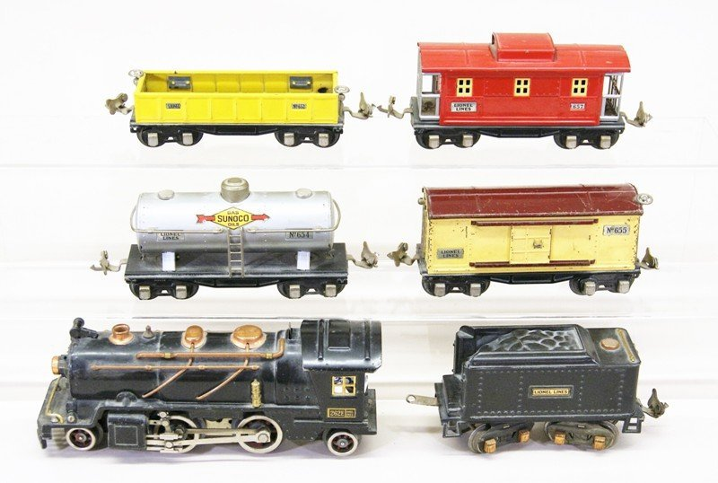 Lionel Freight Set w/262E Engine