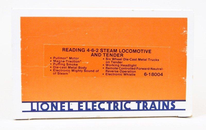 Lionel 18004 Reading Locomotive W/OB - 5