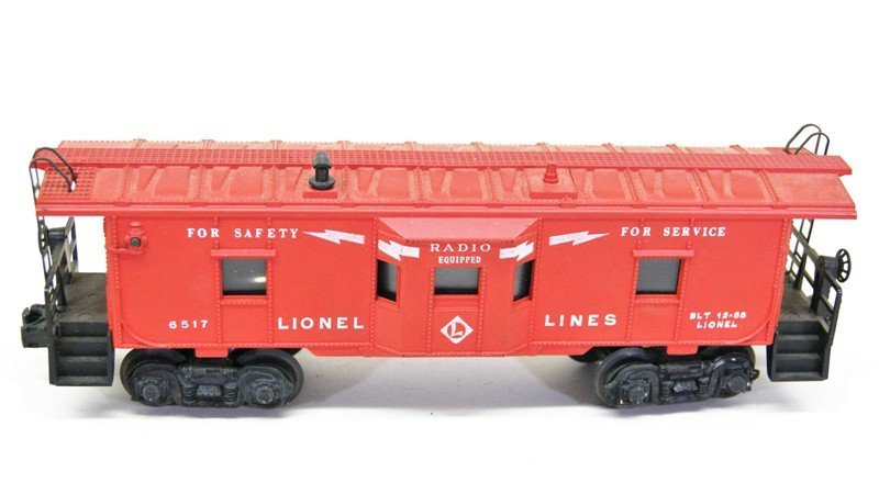 Four Lionel Freight Car with OB's - 2
