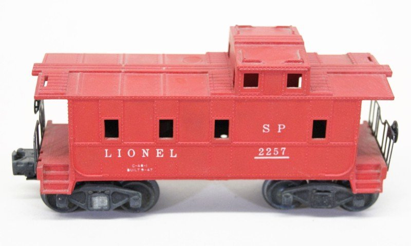 Four Lionel Freight Car with OB's - 5