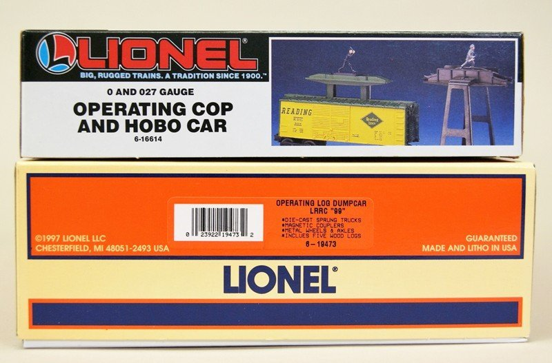 Modern Era Lionel Operating Cars 16814 and 19473 - 4