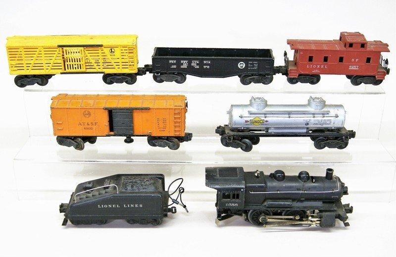 Lionel Seven Piece Freight Set w/1656 Engine - 2