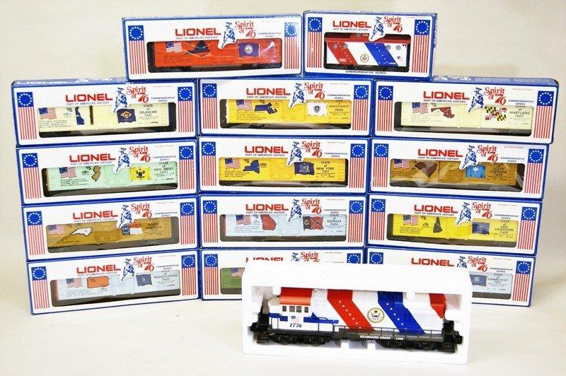 Lionel Spirit of 76 Bi-centennial Freight Set
