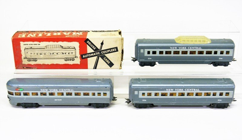 Marx Set of Three Passenger Cars