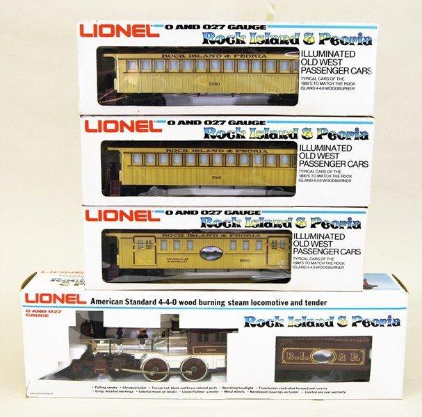 Modern Era Lionel R.I. General Passenger Set