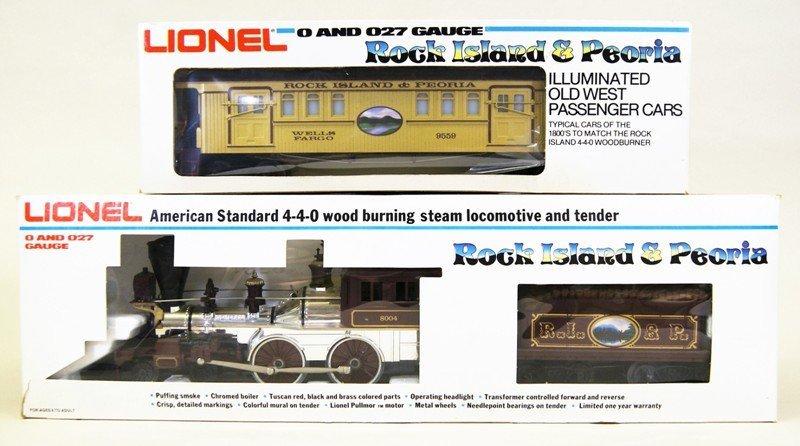 Modern Era Lionel R.I. General Passenger Set - 2