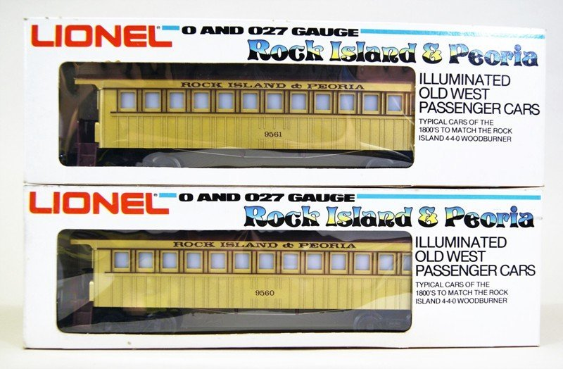 Modern Era Lionel R.I. General Passenger Set - 3