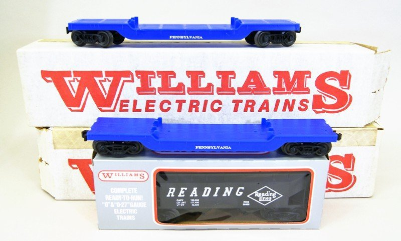 Williams Reading Engine, Passenger and Freight Cars in - 2