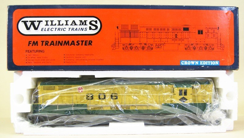 Williams Reading Engine, Passenger and Freight Cars in - 6