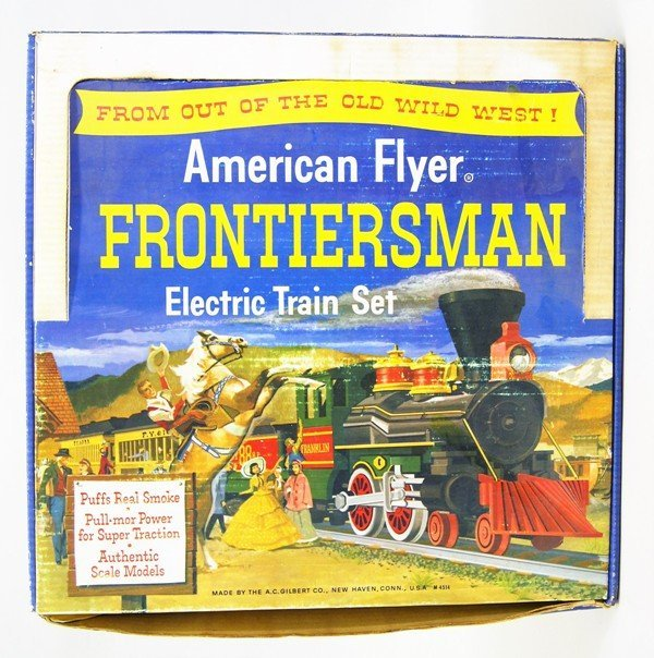 American Flyer 20551 Frontiersman Set in OB with Extra