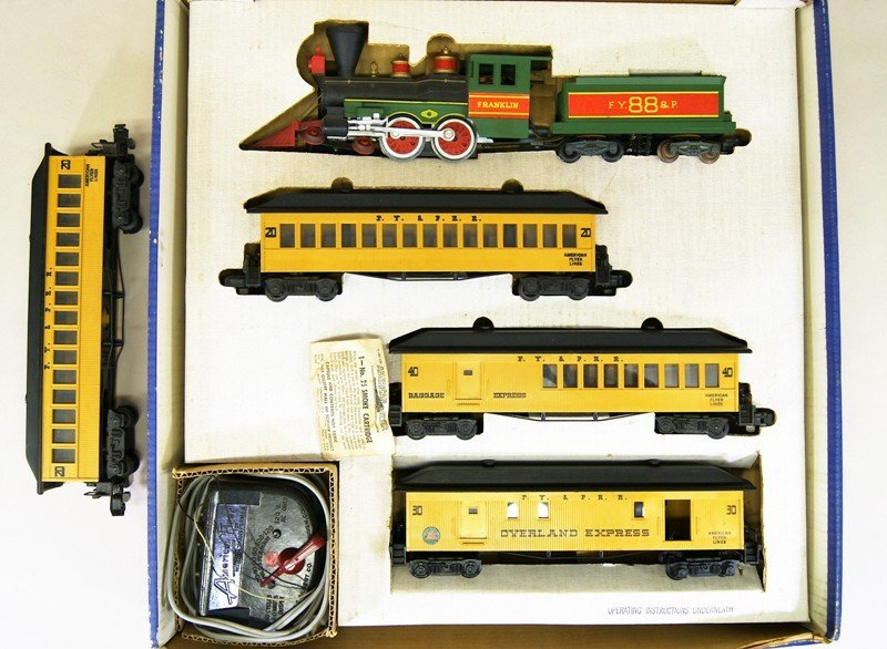 American Flyer 20551 Frontiersman Set in OB with Extra - 2