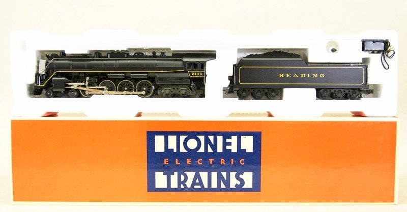 Modern Era Lionel Reading T-1 4-8-4 Locomotive
