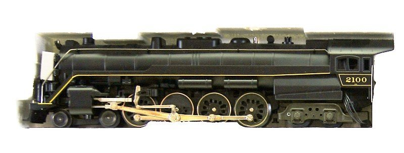 Modern Era Lionel Reading T-1 4-8-4 Locomotive - 2
