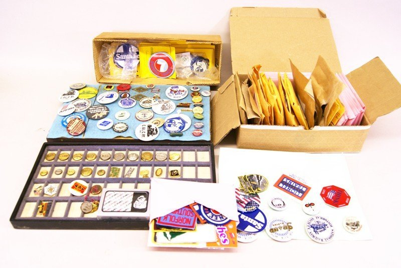 Railroad Buttons, Pins, Patches, Badges
