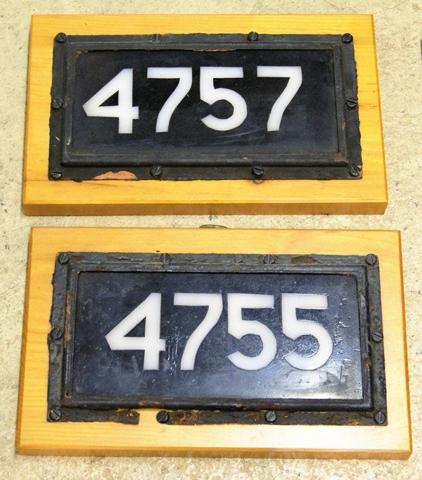 Group Railroad Signs & ID's - 2