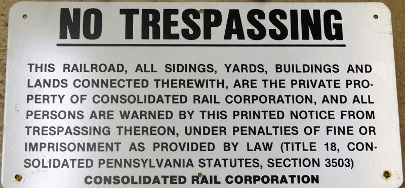 Group Railroad Signs & ID's - 3
