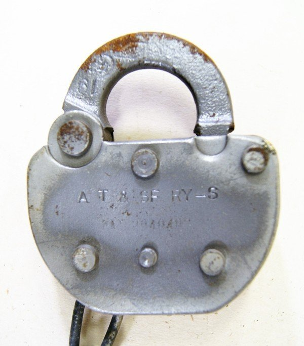 Ten Assorted Railroad Switch Padlocks - 2