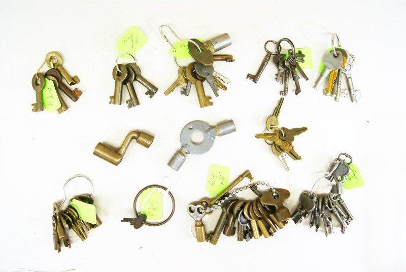Railroad Switch Lock Keys