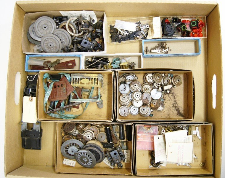 Large Grouping of Miscellaneous Train Parts - 2