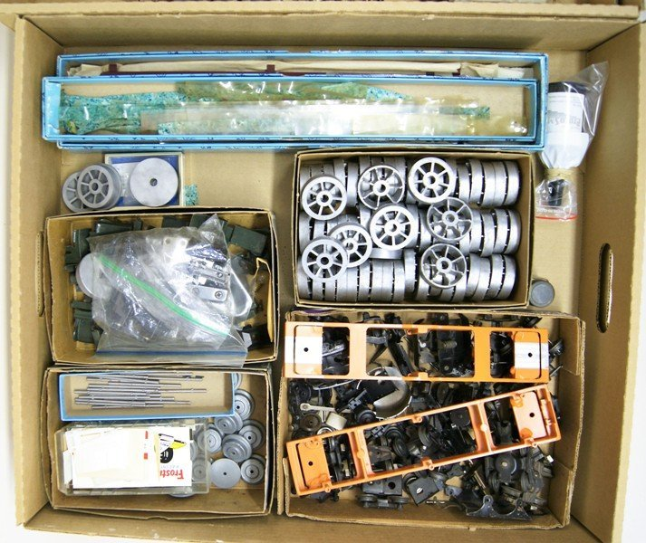 Large Grouping of Miscellaneous Train Parts - 3
