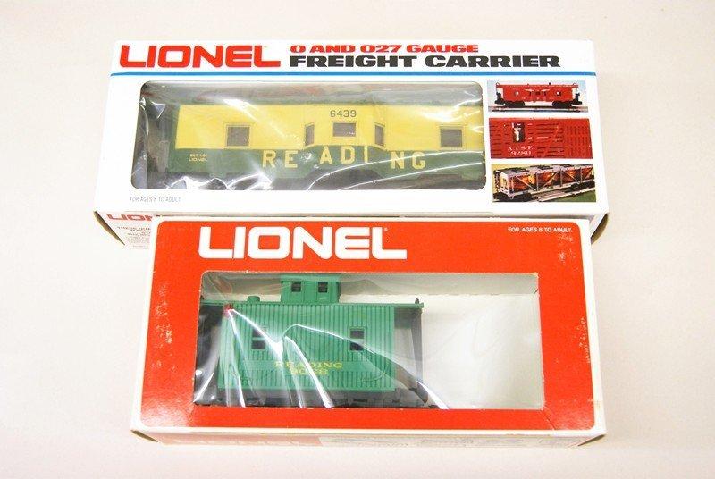 Lot of Ten Lionel Reading Railroad Rolling Stock - 2