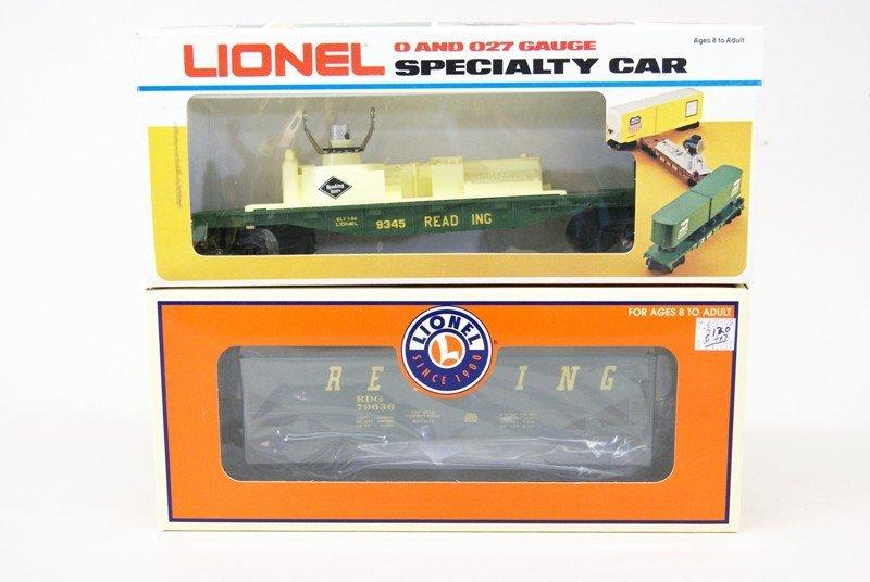 Lot of Ten Lionel Reading Railroad Rolling Stock - 6