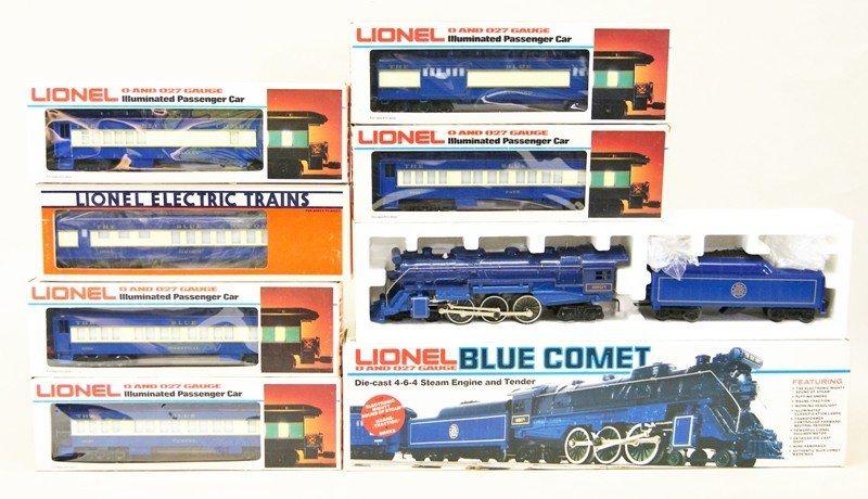 Modern Era Lionel Blue Comet Train Set in O/B's