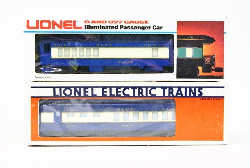 Modern Era Lionel Blue Comet Train Set in O/B's - 3