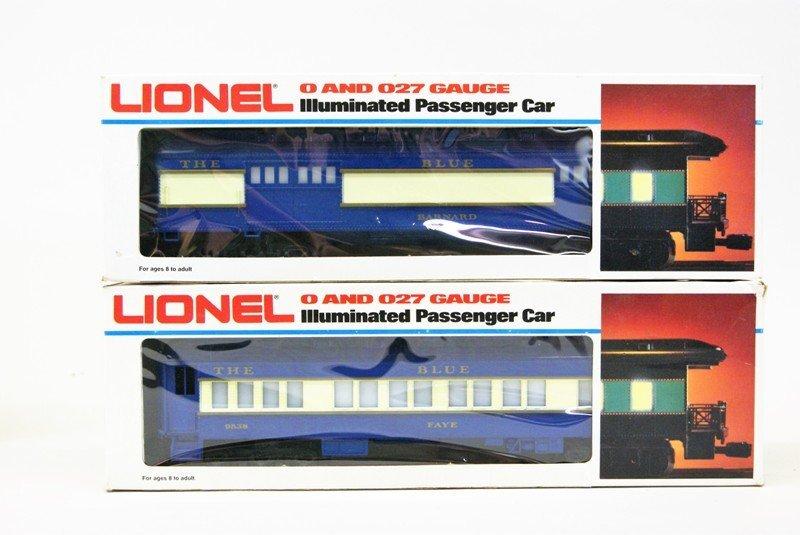 Modern Era Lionel Blue Comet Train Set in O/B's - 4