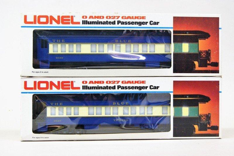 Modern Era Lionel Blue Comet Train Set in O/B's - 5