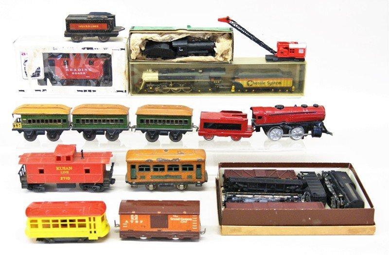 Miscellaneous Vintage O Gauge, HO, Etc. Trains and