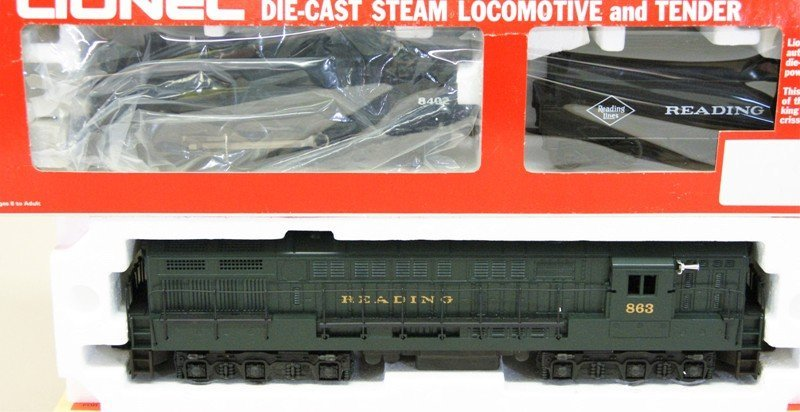 Two Lionel Reading Locomotives - 2
