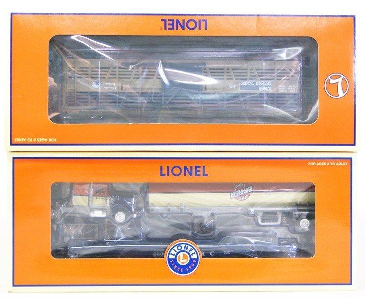 Lionel Lot of Nine Railroad Club Cars - 2