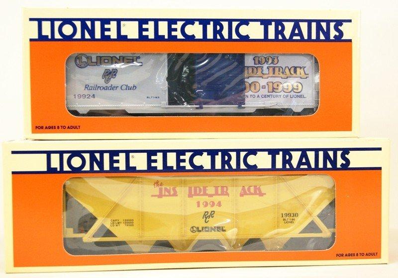 Lionel Lot of Nine Railroad Club Cars - 3