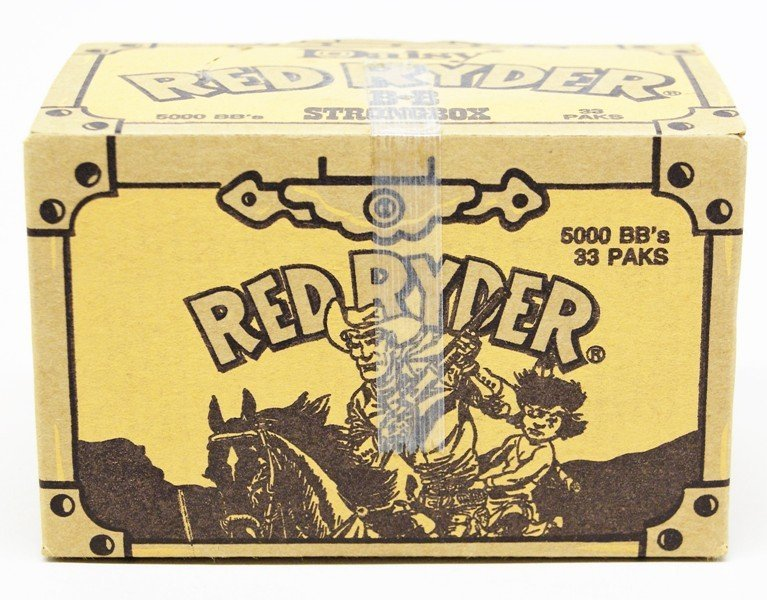 Box of Red Ryder BB's