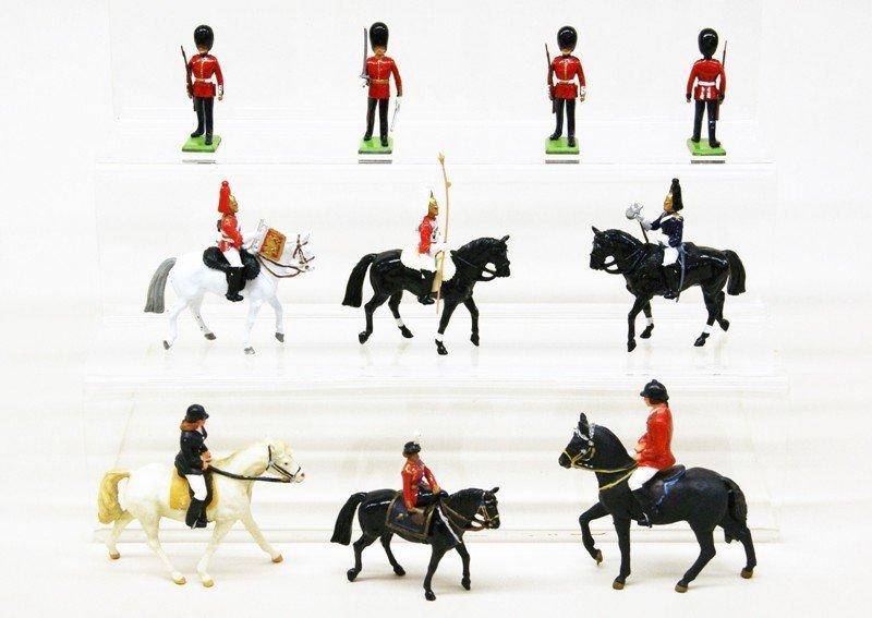 Lot of Ten Soldiers and Horsemen