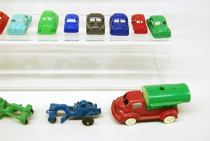 Twenty-five Plastic Vehicles - 2
