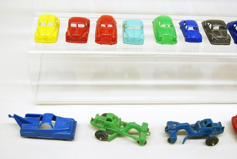 Twenty-five Plastic Vehicles - 3